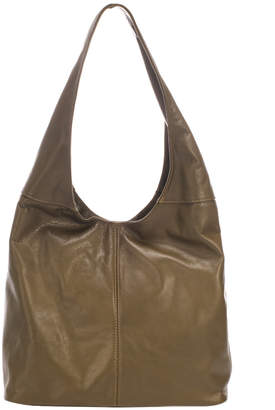 Italian Leather Unstructured Hobo
