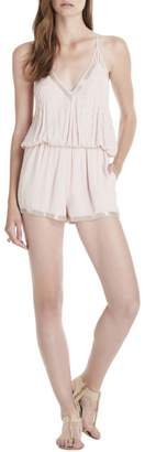 Saylor Hollis Romper Blush