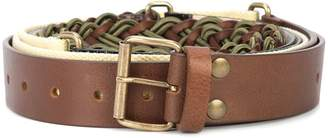 Y/Project Y / Project Segment buckled belt