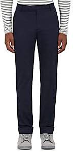 ATM Anthony Thomas Melillo MEN'S COTTON POPLIN TROUSERS-NAVY SIZE 34
