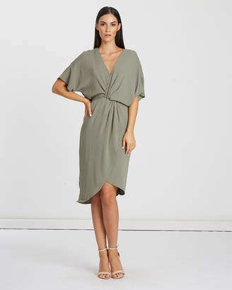 Oregon Knot Front Dress