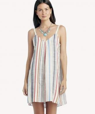 Sole Society Spaghetti Strap Gathered Neck Slip Dress