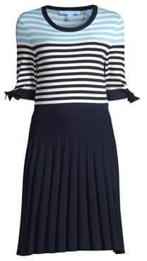 Draper James Sailor Stripe Sweater Dress