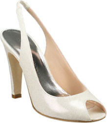 Marc by Marc Jacobs - 683977 White Glittered Patent