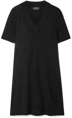 A.P.C. Jenn Stretch-jersey Dress - Black