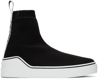 Givenchy Black George V Sneakers