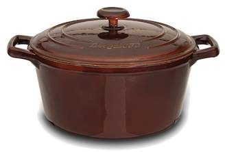 "Berghoff 9.5"" Cast Iron Round Covered Casserole Pot"