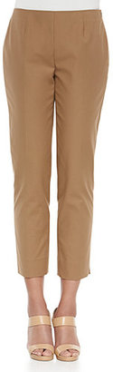 Lafayette 148 New York Bleecker Cropped Pants $278 thestylecure.com