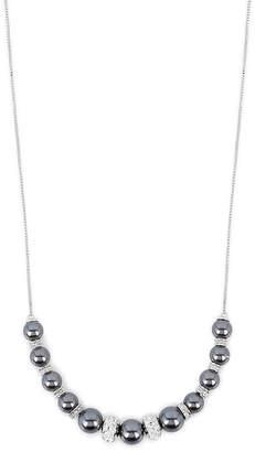 Henri Bendel Pearl Slider Necklace