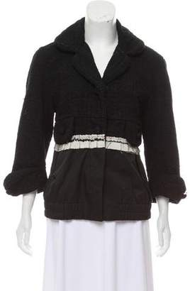 Marc Jacobs Contrasted Button Front Jacket