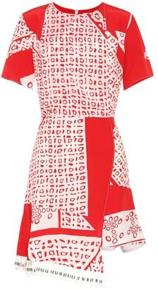 Altuzarra Tournelle printed silk dress