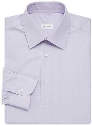 Brioni Classic Fit Stripe Dress Shirt