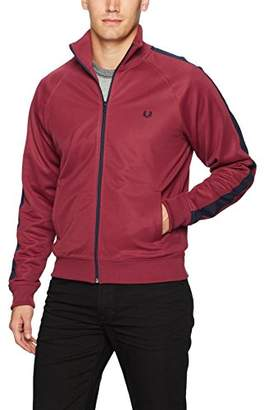 Fred Perry Men's Contrast Panel Track Jacket