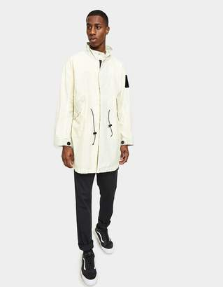 Brain Dead No Ghost Shell Parka in Off White