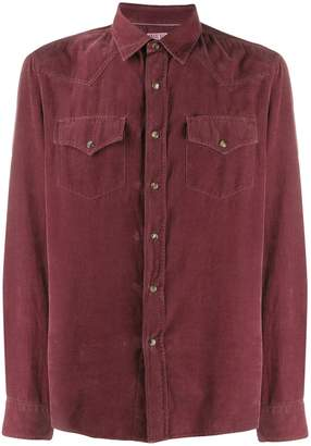 Brunello Cucinelli flap pocket shirt