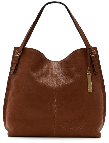 Vince Camuto Aniko Leather Tote - Brown