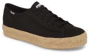 Keds R) Triple Kick Espadrille Platform Sneaker