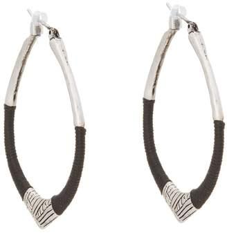 The Sak String Forward Third Arabesque Hoop Earring Earring