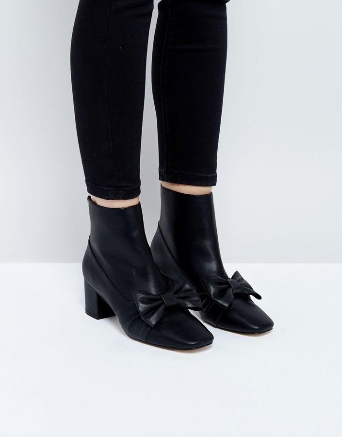 AsosASOS RAYOLA Bow Ankle Boots