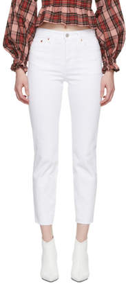 Levi's Levis White Wedgie Icon Jeans