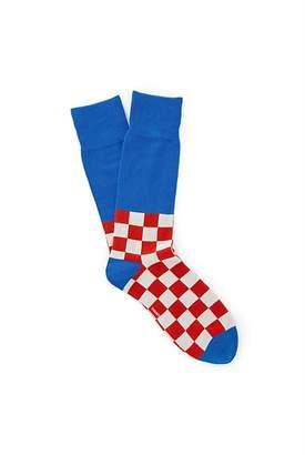 Country Road Half Check Socks