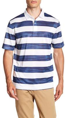 Callaway GOLF Space Dye Stripe Polo