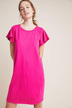 T.La Flutter-Sleeved Tee Dress
