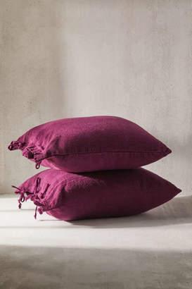 Urban Renewal Vintage Linen Tie Pillowcase Set