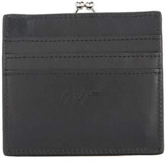 Yohji Yamamoto clasp wallet