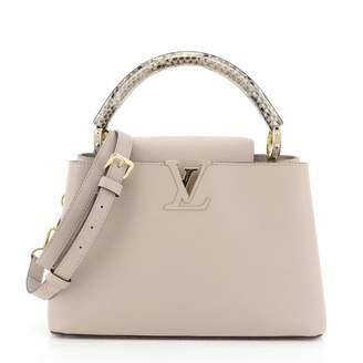 Louis Vuitton Capucines Beige Exotic leathers Handbags