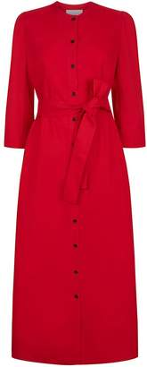 Alice Early The Raminta Shirt Dress - Red