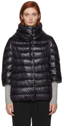 Herno Black Down Aminta Coat