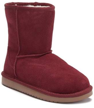 Koolaburra BY UGG Koola Faux Fur Lined Suede Short Boot (Little Kid & Big Kid)