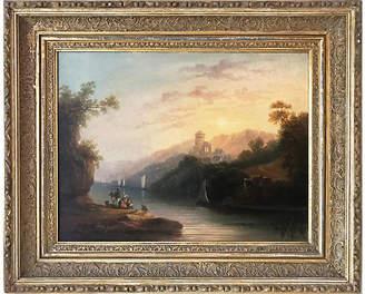 One Kings Lane Vintage 19th-C. European Landscape - Antiquarian Art Company Art