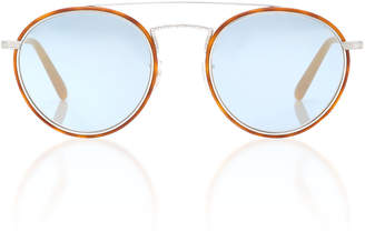 Oliver Peoples Ellice Aviator Sunglasses