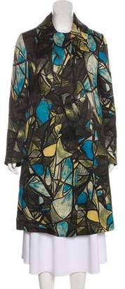 Marni Silk & Wool-Blend Coat