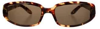Gucci Tinted Tortoiseshell Sunglasses