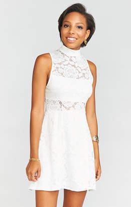 Show Me Your Mumu Alexa Dress ~ Fiesta Floral Lace White