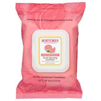 Burt's Bees Pink Grapefruit Facial Cleansing Towelettes