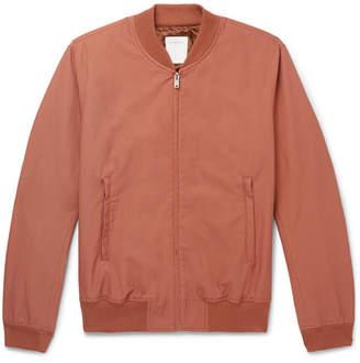 Sandro Monaco Cotton-Blend Twill Bomber Jacket