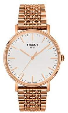 Tissot Everytime Medium Rose Gold-Tone Mens Watch T1094103303100