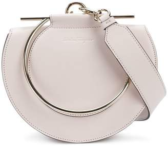 Salvatore Ferragamo round-shaped Giancini handle bag