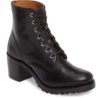 Frye Sabrina 6G Lace-Up Boot