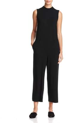 Eileen Fisher Mock Neck Cropped Jumpsuit