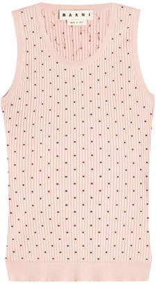 Marni Printed Cotton Tank