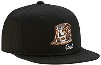 18e7ab829 Coal Men s The Wilderness Hat Adjustable Corduroy Snapback Cap