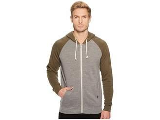 Threads 4 Thought Color Block Malibu Zip Hoodie Men's Sweatshirt