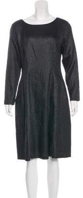Josie Natori Textured Knee-Length Dress