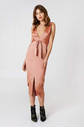 Lavish Alice Tie Waist Dress