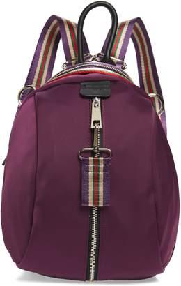 Sondra Roberts Satin Nylon & Webbing Convertible Backpack